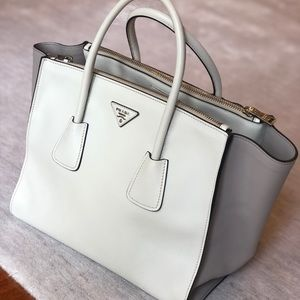 100% AUTHENTIC Prada Leather city calf tote
